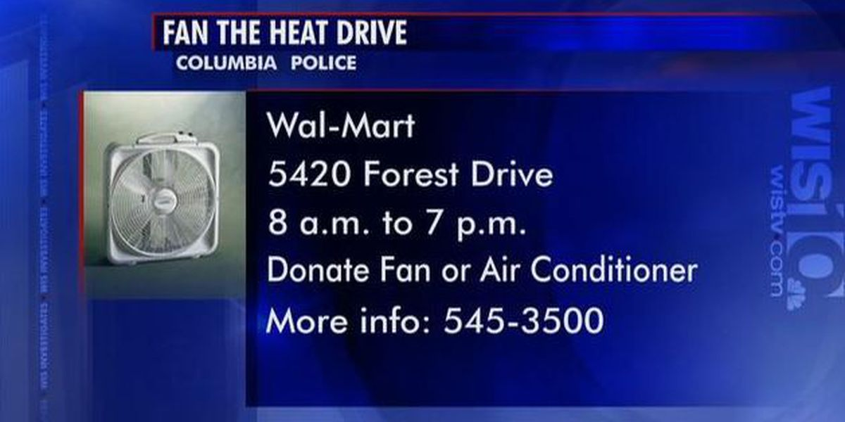 Columbia Police Fan the Heat program helps needy deal with summer temperatures