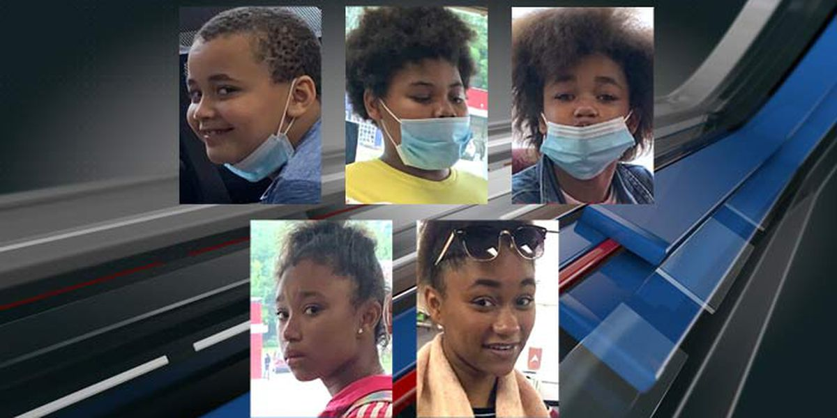 5 children reported missing from North Charleston since August