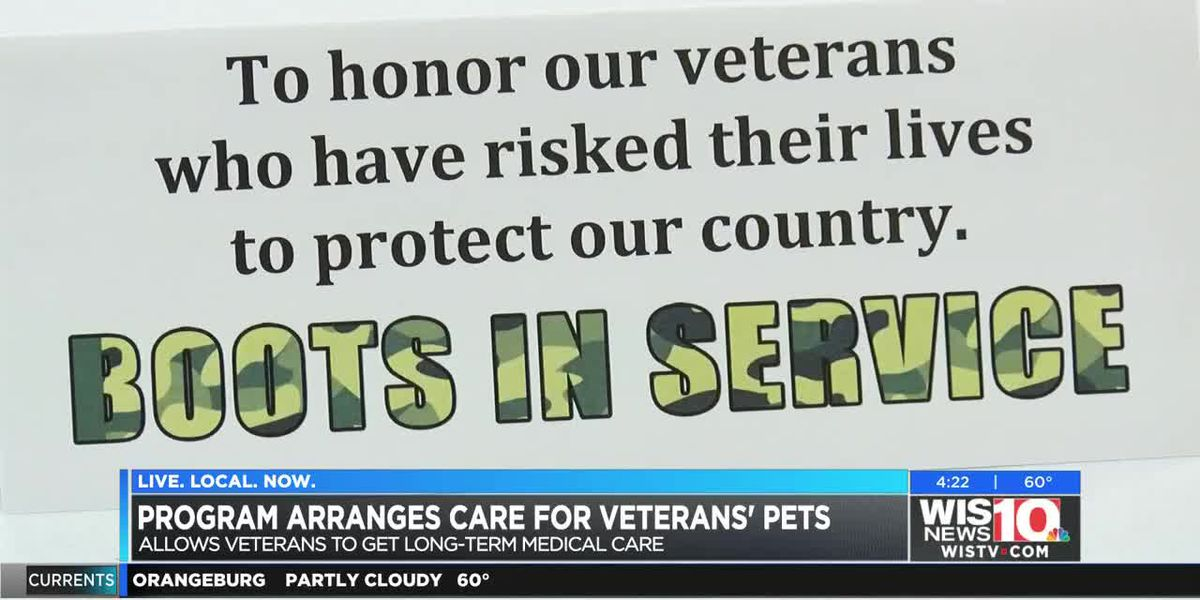 SC governor, first lady announce an initiative for vets with pets