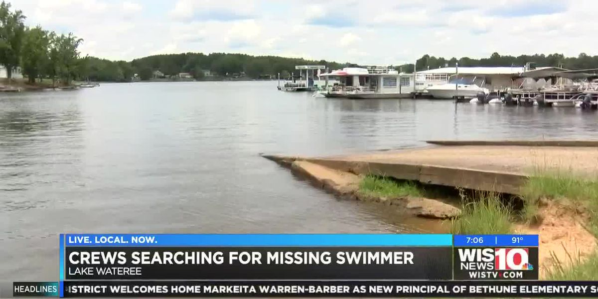 Officials search for missing boater on Lake Wateree