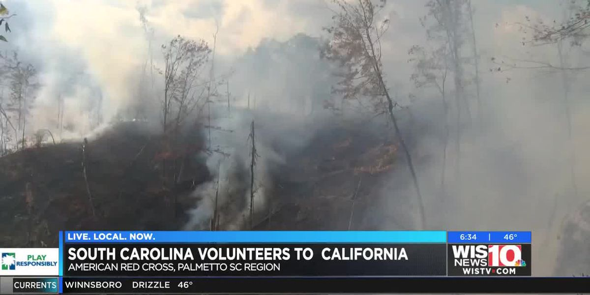 South Carolinians go to California to help during wildfires
