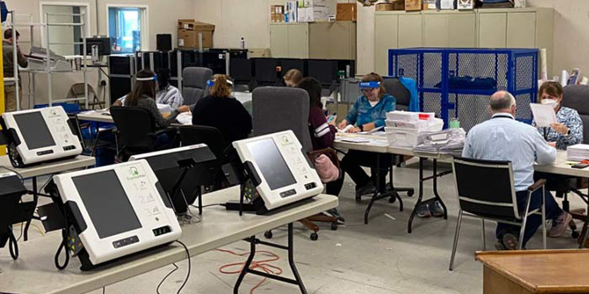 Dorchester County to resume count after mail-in ballot printing error