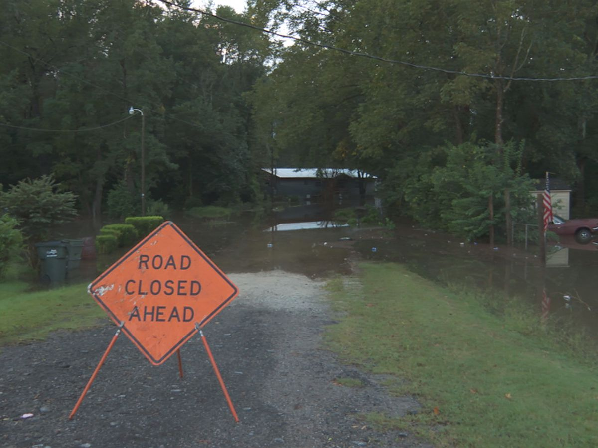 Remnants of Sally dumps inches of rain on Orangeburg Co., officials watching river and creek levels