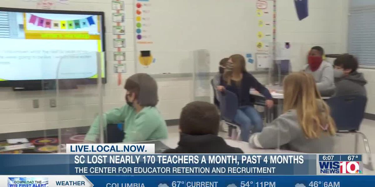 SC lost 170 teachers a month for four months, but there are less open teaching jobs - here's why