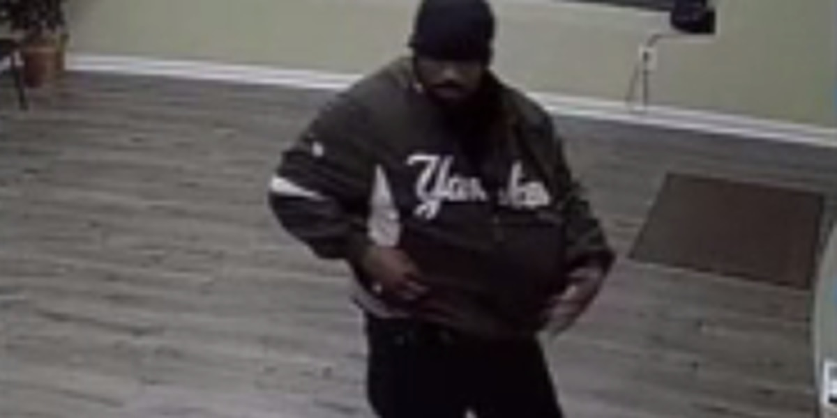 Aiken officials looking for man accused of armed robbery at loan office