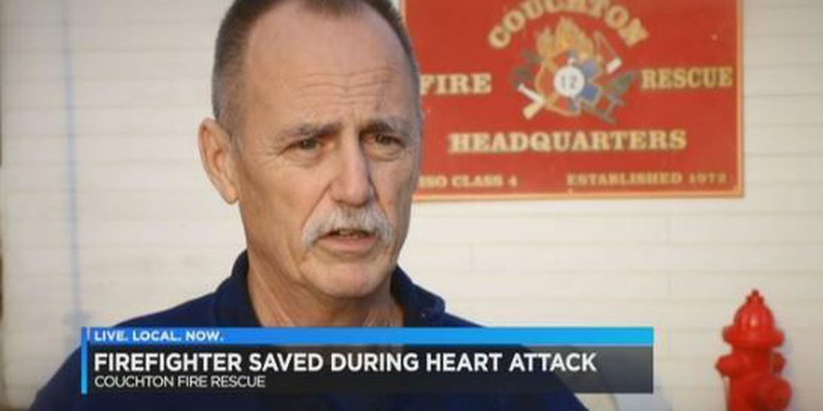 Thanksgiving more meaningful for SC firefighter saved by hero