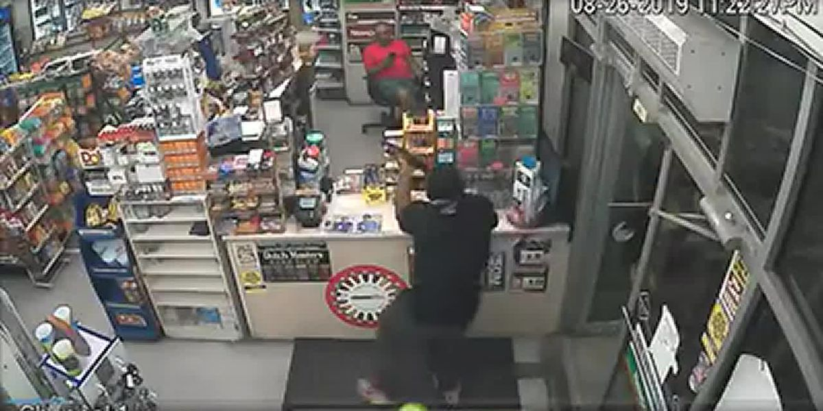 CAUGHT ON CAMERA: Robber uses shotgun to hold up SC gas station