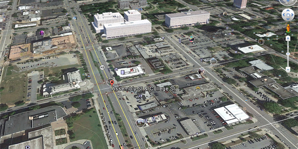 CPD: Pedestrian struck in downtown Columbia taken to hospital