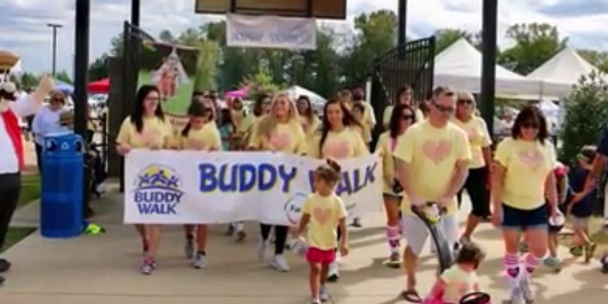 Columbia's Buddy Walk set for Sunday at Saluda Shoals