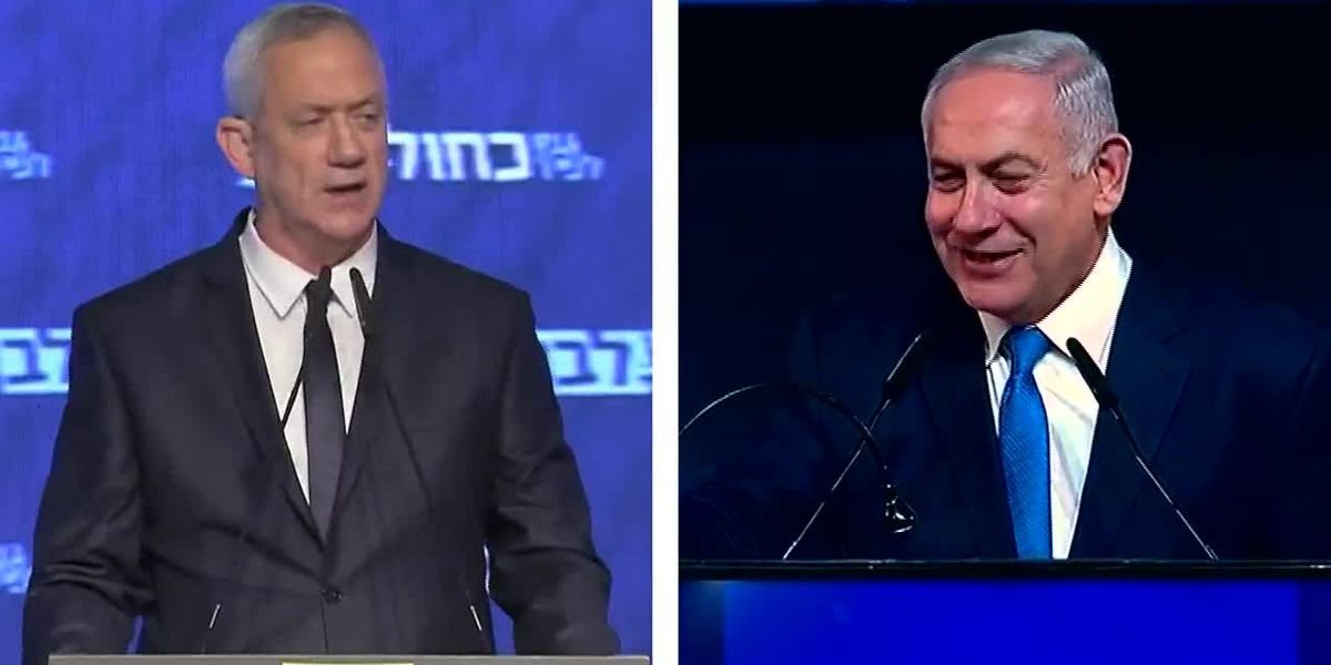 Israel's Netanyahu appears to suffer setback in exit polls
