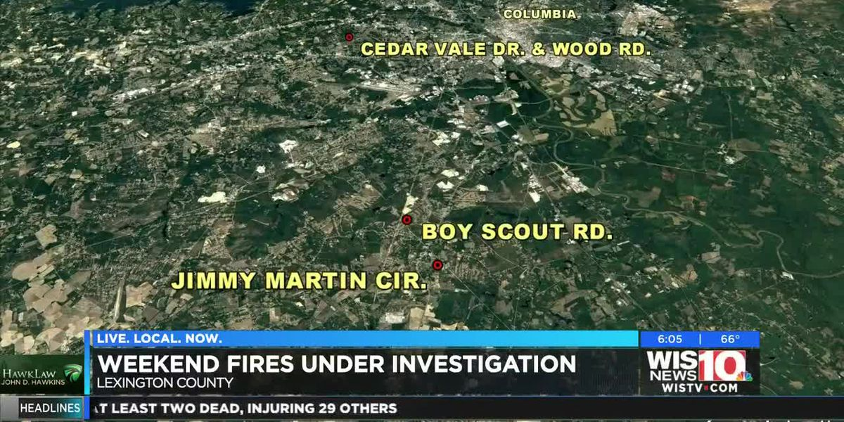 Weekend fires under investigation in the Midlands