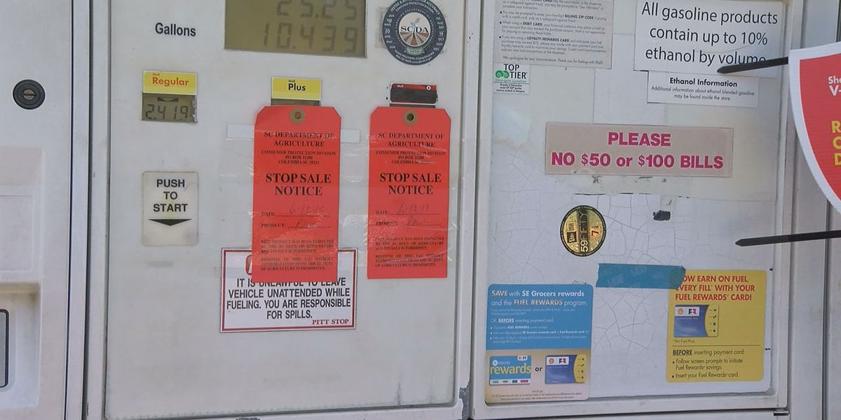 Complaints of water in fuel surface at Midlands gas station