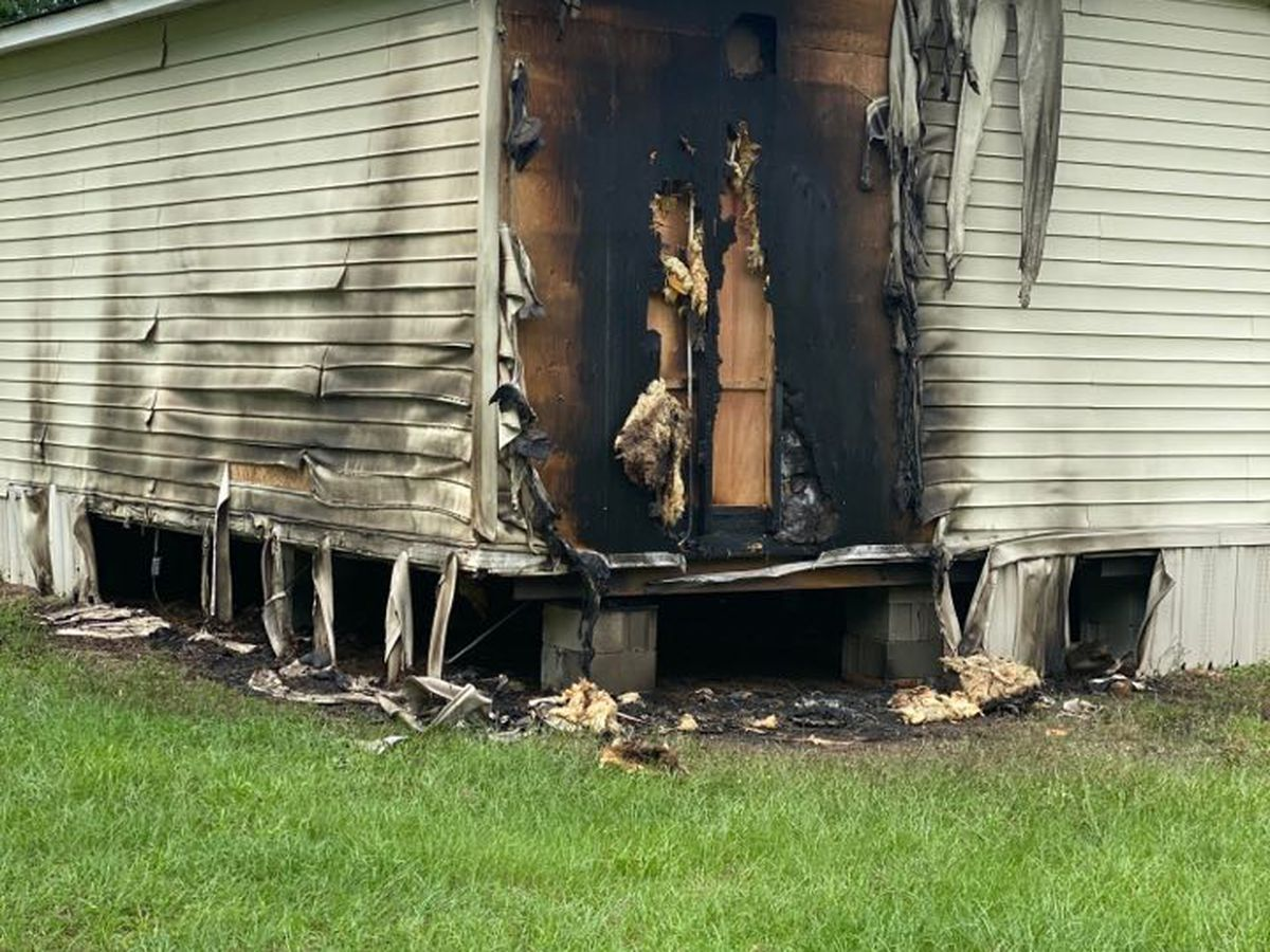 Sumter Co. Sheriff's Office opens arson investigation after substation is partially burned