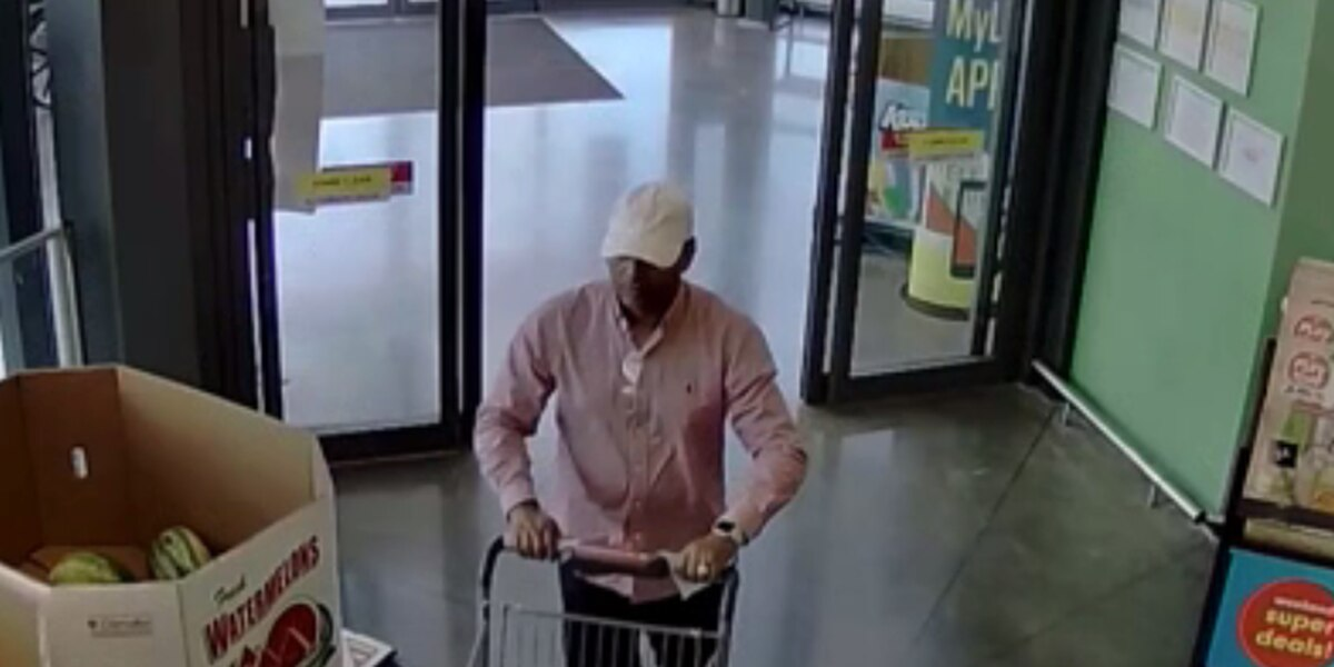 Lexington man wanted for stealing credit cards at Lidl then shopping at Target