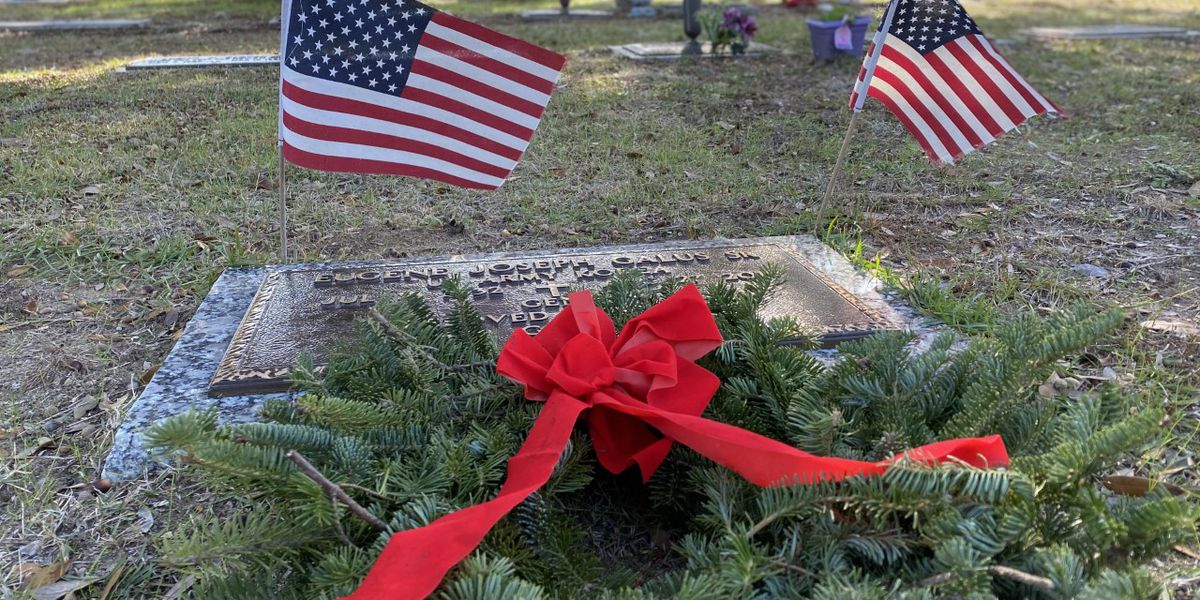 Annual Wreaths Across America ceremony honors veterans and their families