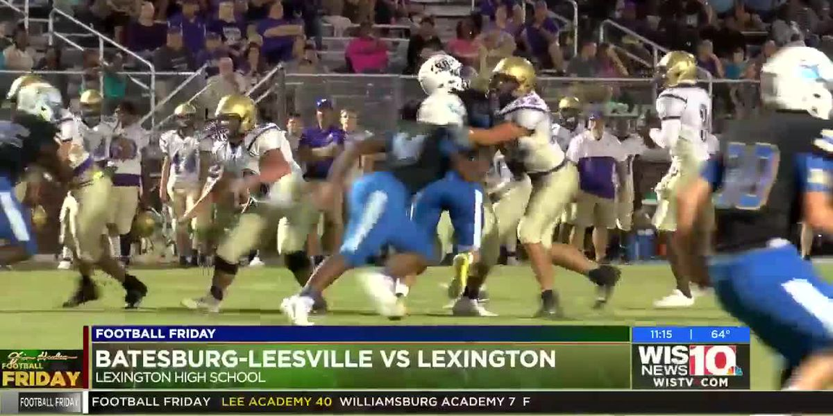 Play 3: Batesburg-Leesville's Tre Robinson throws a rocket to Keshoun Williams in the endzone