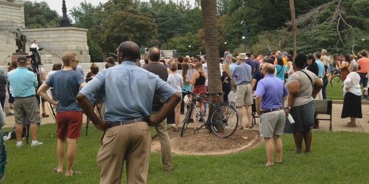 Many in the Midlands stand with Charlottesville protest victims