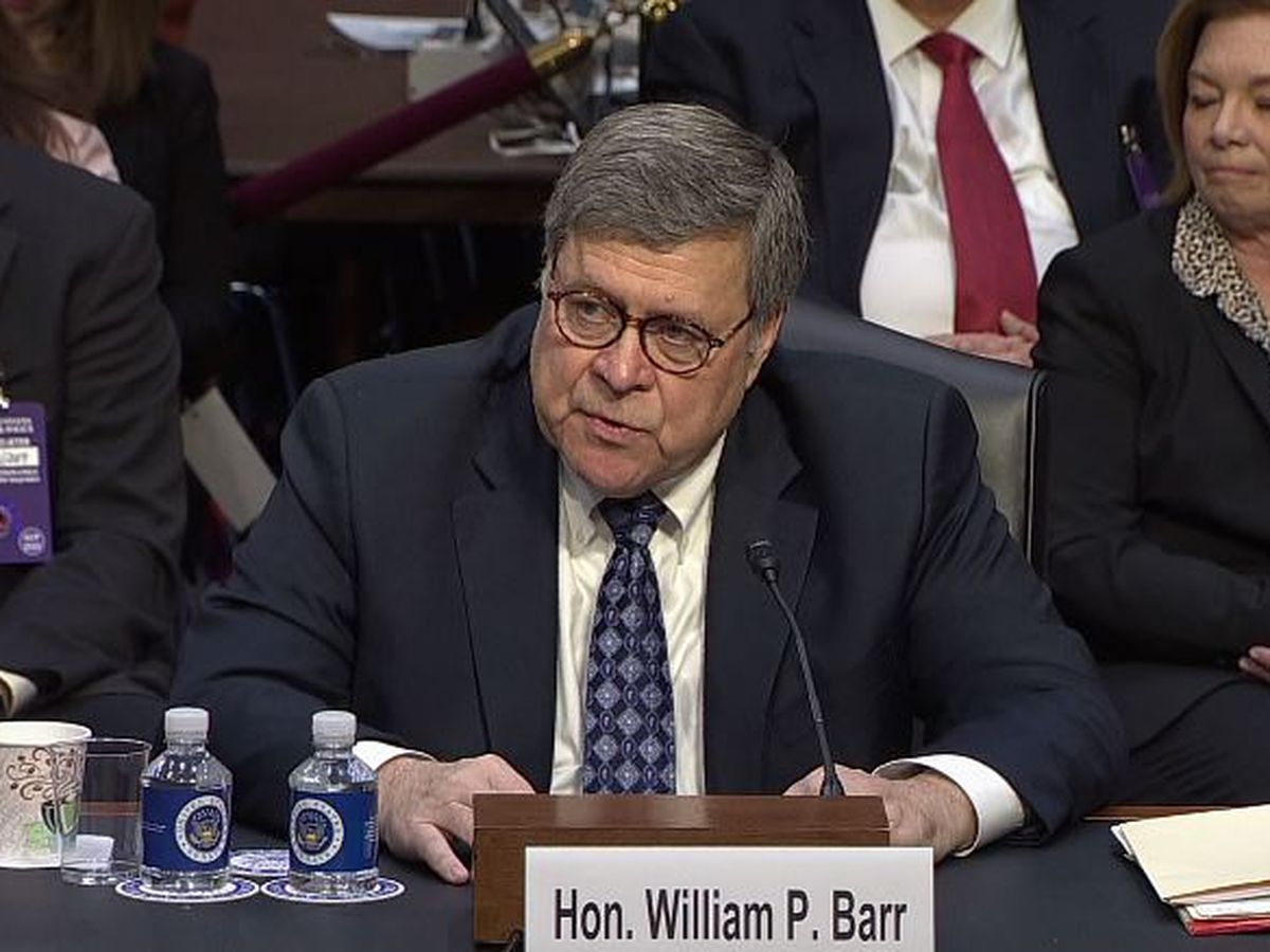 Attorney general nominee Barr seeks to assure senators he won't be a Trump loyalist
