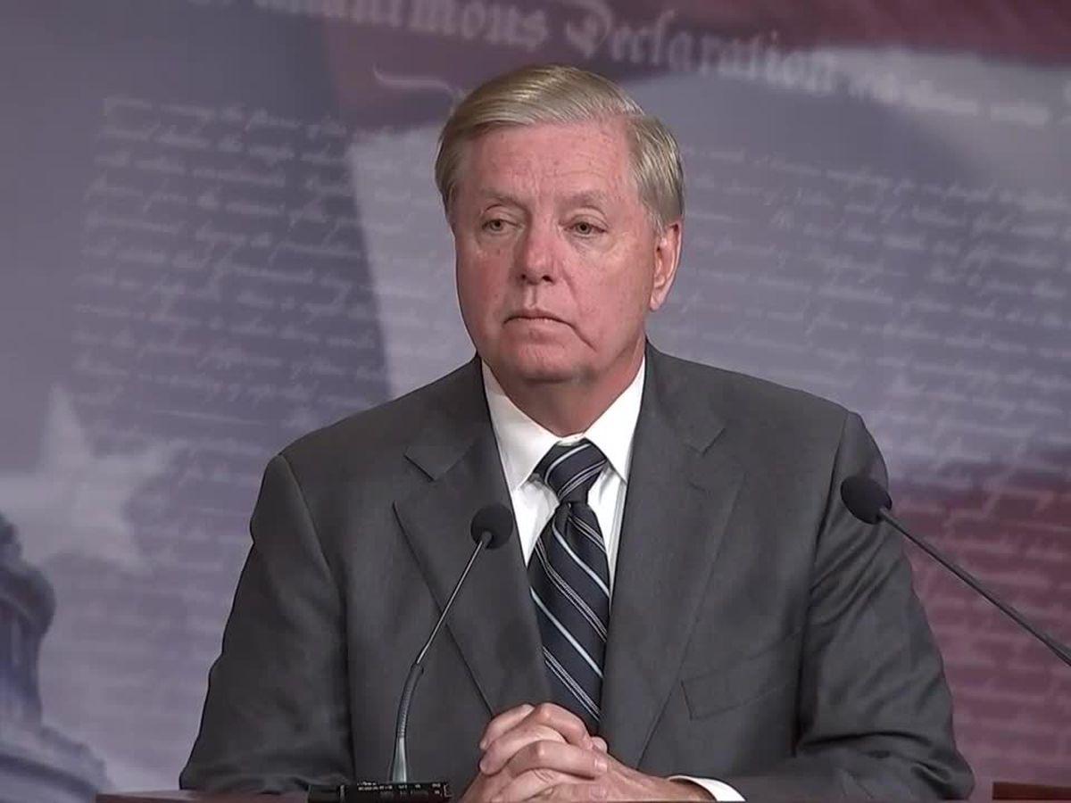 Sen. Lindsey Graham to address COVID-19 Wuhan 'lab leak' speculation