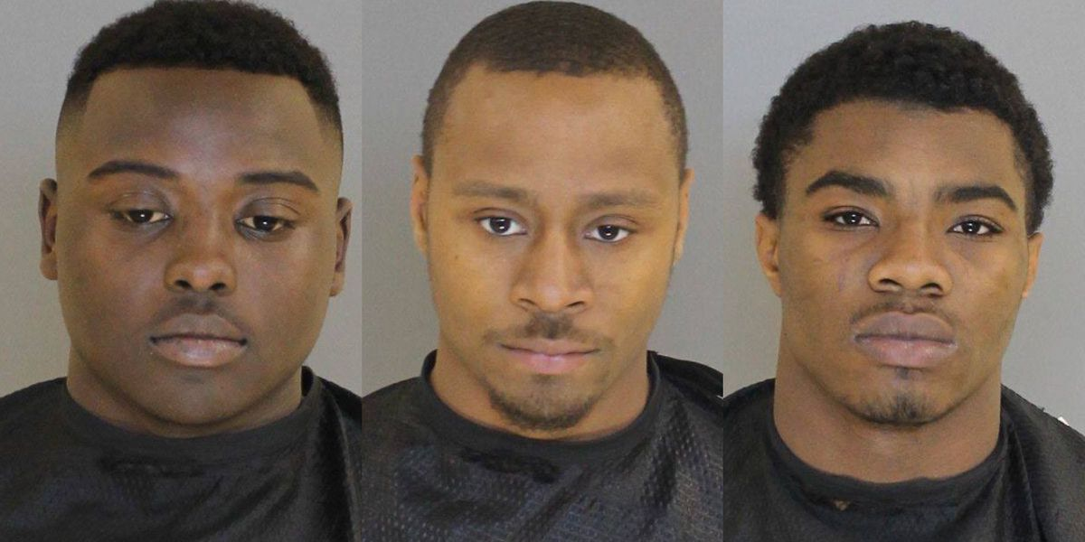 Trio charged in Sumter armed robbery after stealing cash deposit from coworker