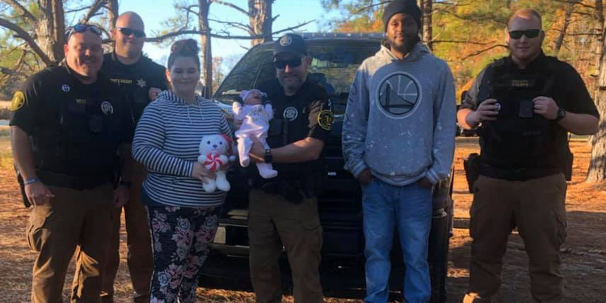 KCSO deputies 'protect and serve' by escorting mother with choking newborn to ER