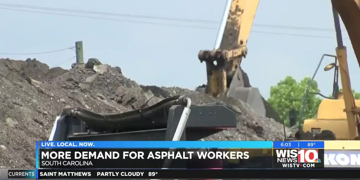 New gas tax related projects lead to demand for asphalt workers