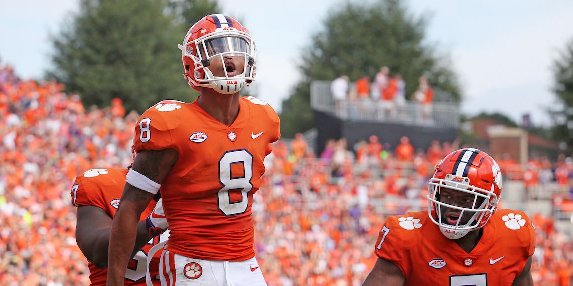 Clemson's Terrell selected by Falcons in first round of 2020 NFL Draft