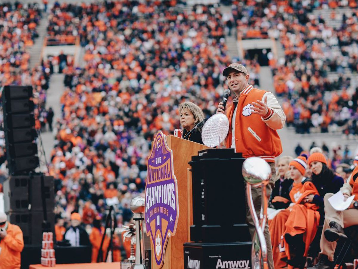 Dabo Swinney becomes the nation's second-highest-paid coach