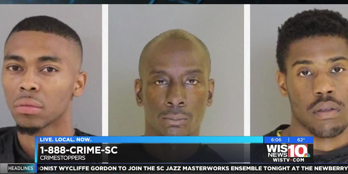 Sumter PD post cash rewards for three wanted men