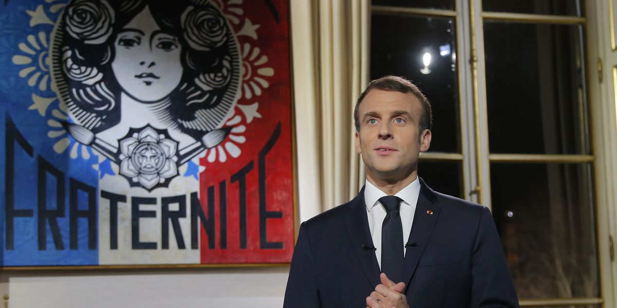 France: Protest planned amid revelry; Macron defends agenda