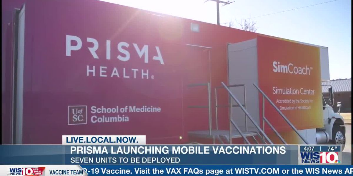 Prisma Health launches mobile vaccination for rural and underserved communities