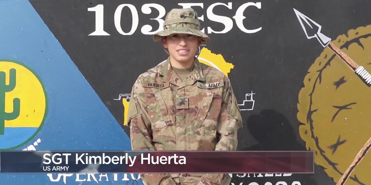 Military Greetings - Sgt. Kimberly Huerta