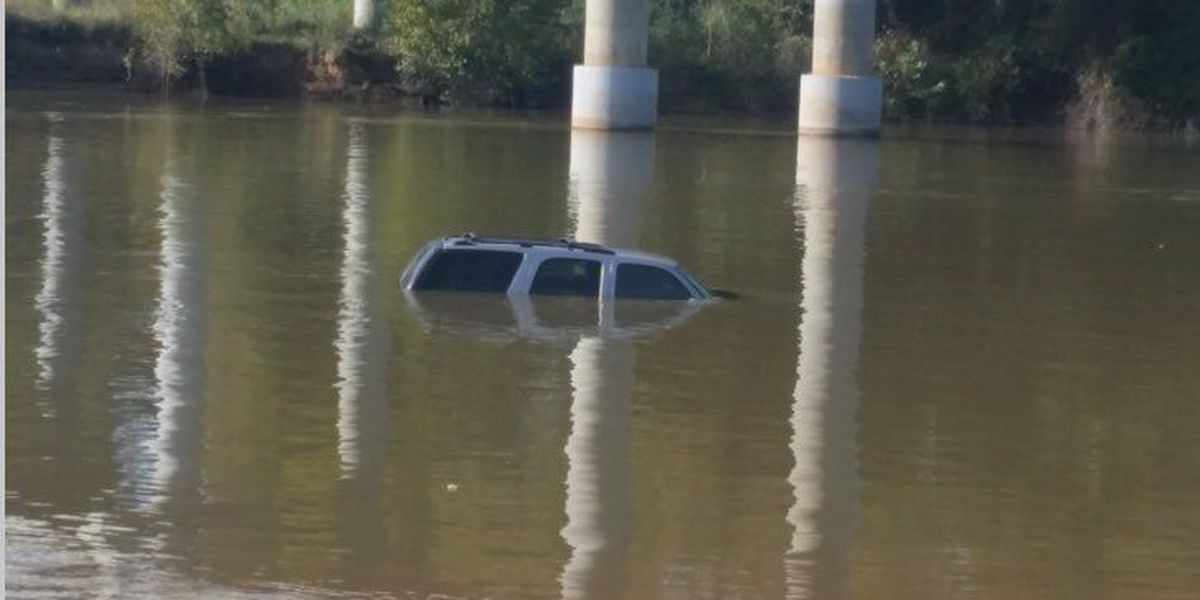 RCSD: SUV found submerged in water off Hwy 601; driver OK