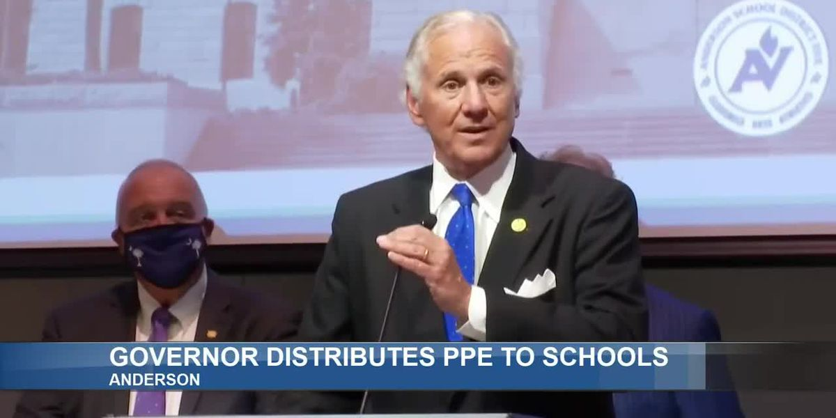Gov. McMaster announces plans for delivery of PPE equipment to S.C. schools