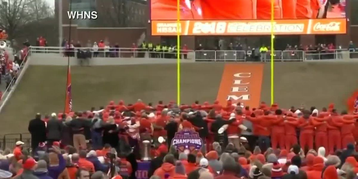 WATCH Clemson Tigers' National Championship fan celebration at Memorial Stadium