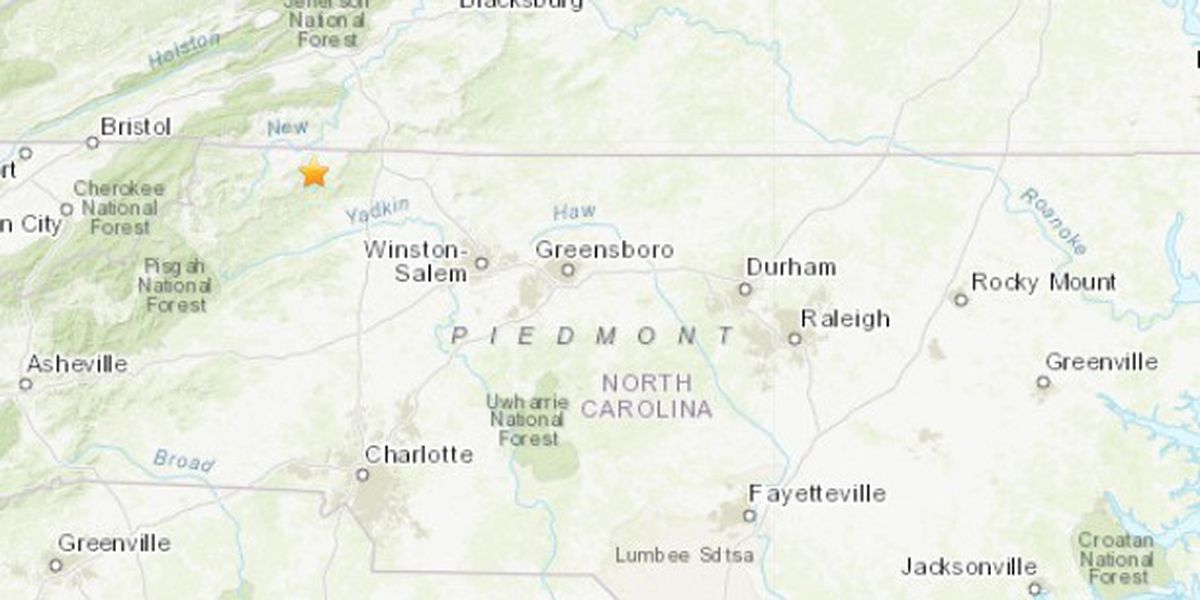 5.1 magnitude quake rattles Virginia, North Carolina