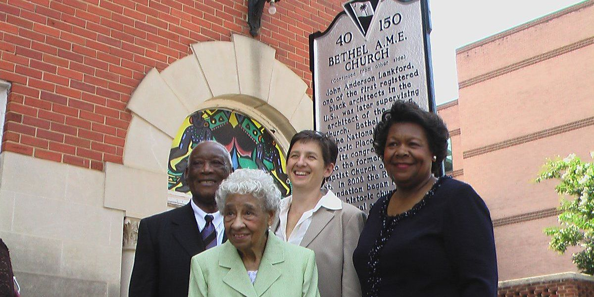 Police: Midlands church want stolen historical marker returned