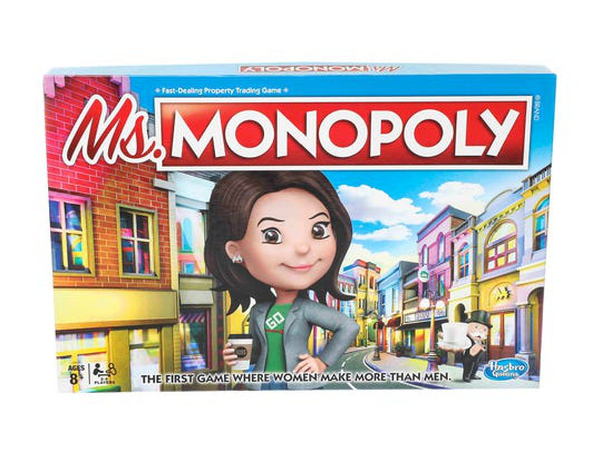 Hasbro launches new 'Ms. Monopoly' board game