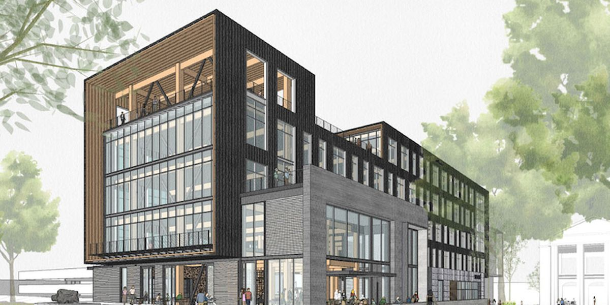 BullStreet District breaks ground on WestLawn office building