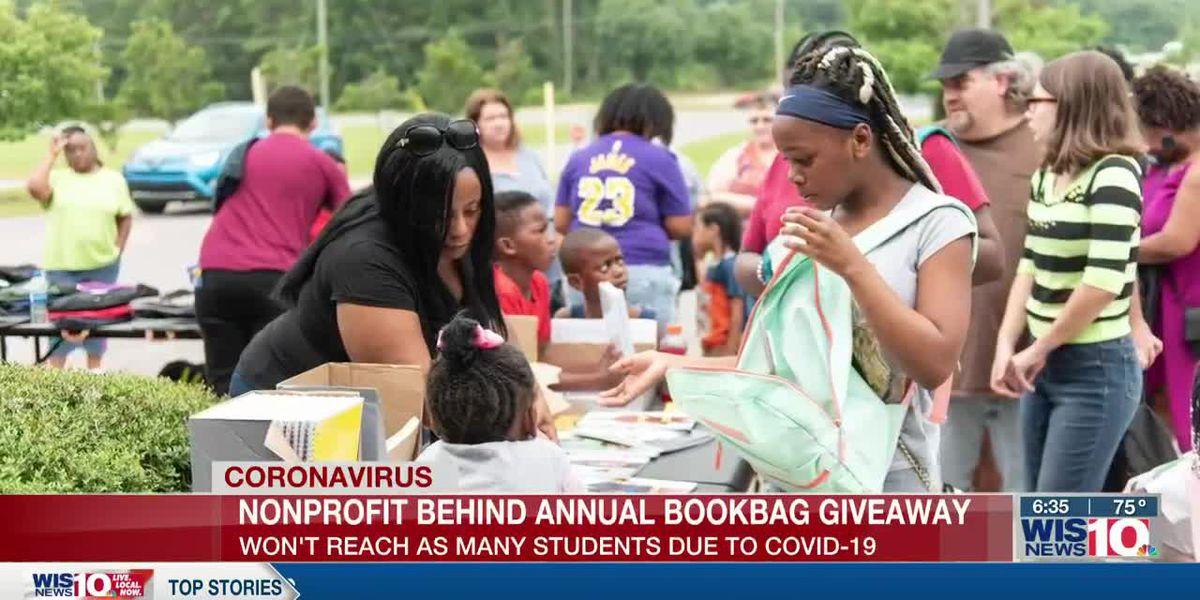 Annual back-to-school backpack giveaway won't reach as many students because of COVID-19 concerns