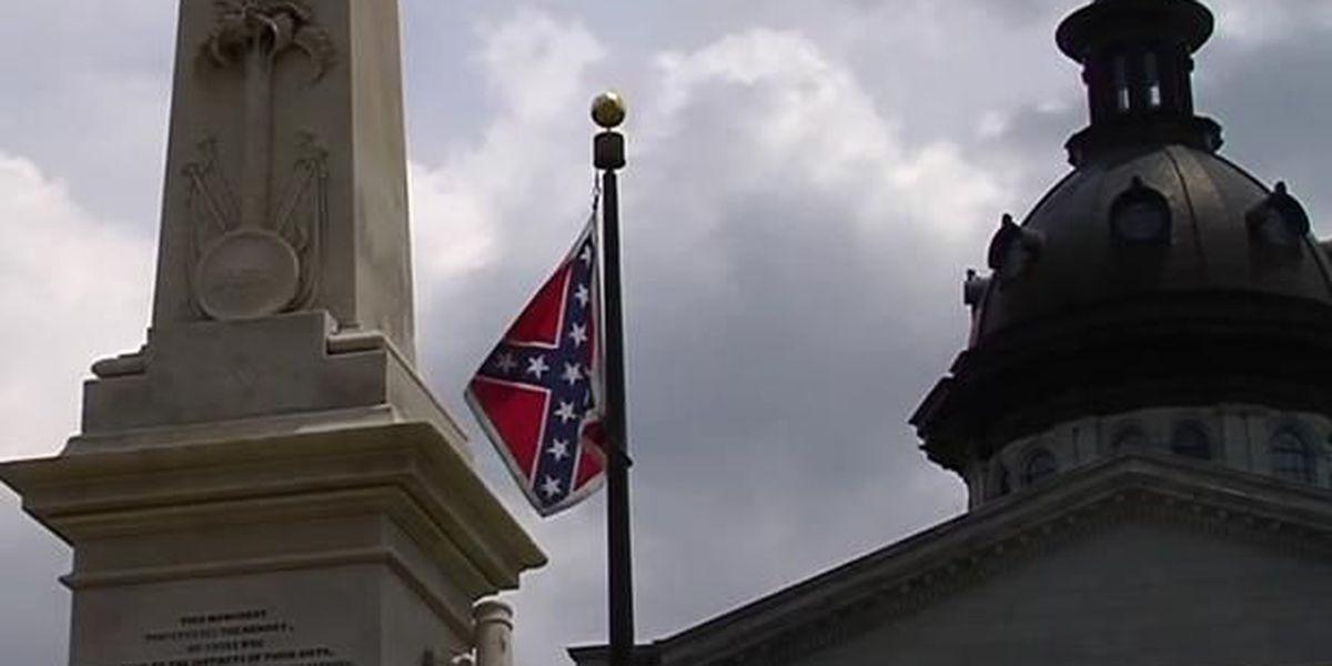 South Carolina's last Confederate flag remains in a box