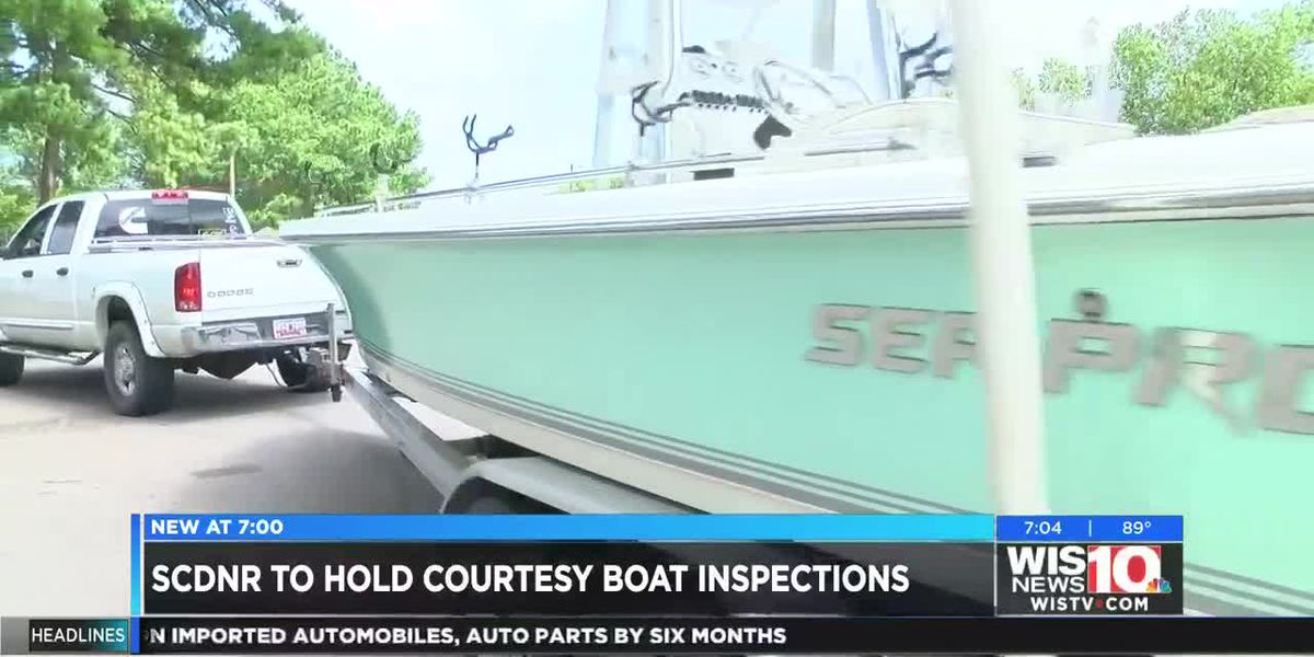 SCDNR will give courtesy boat inspections in preparation for Memorial Day