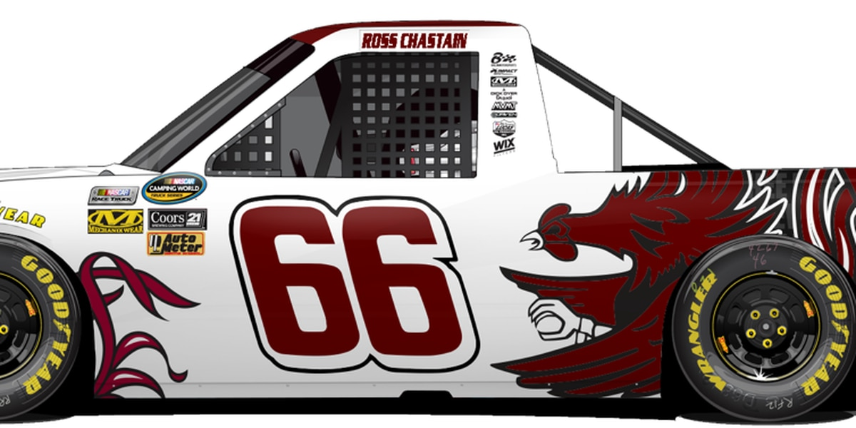 Gamecocks to be represented in NASCAR Camping World Truck Series this weekend