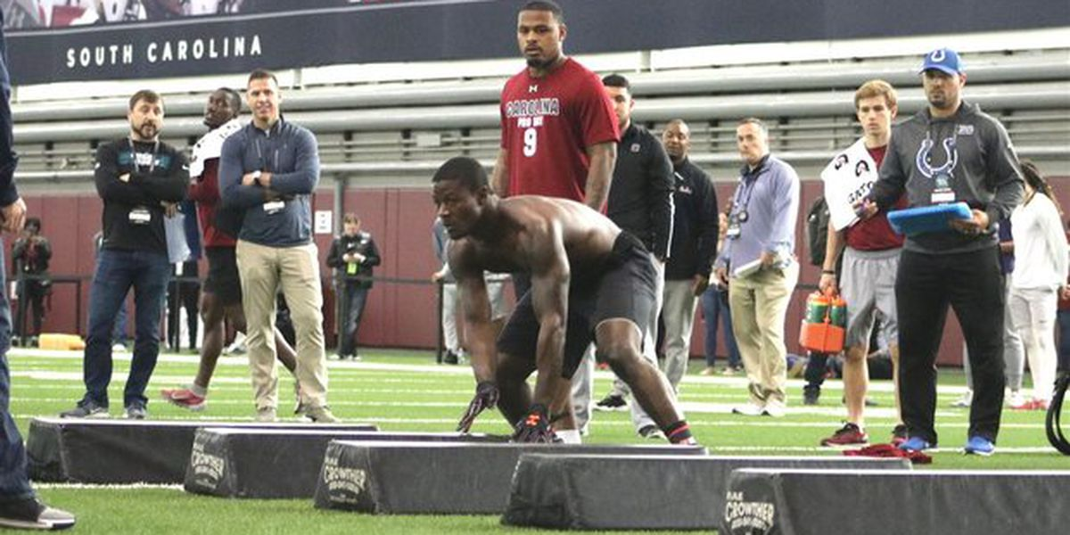 Gamecocks strut their stuff for NFL scouts at Pro Day