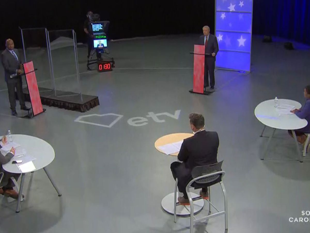 'Lots at stake here': Fiery final debate in tight SC Senate Race