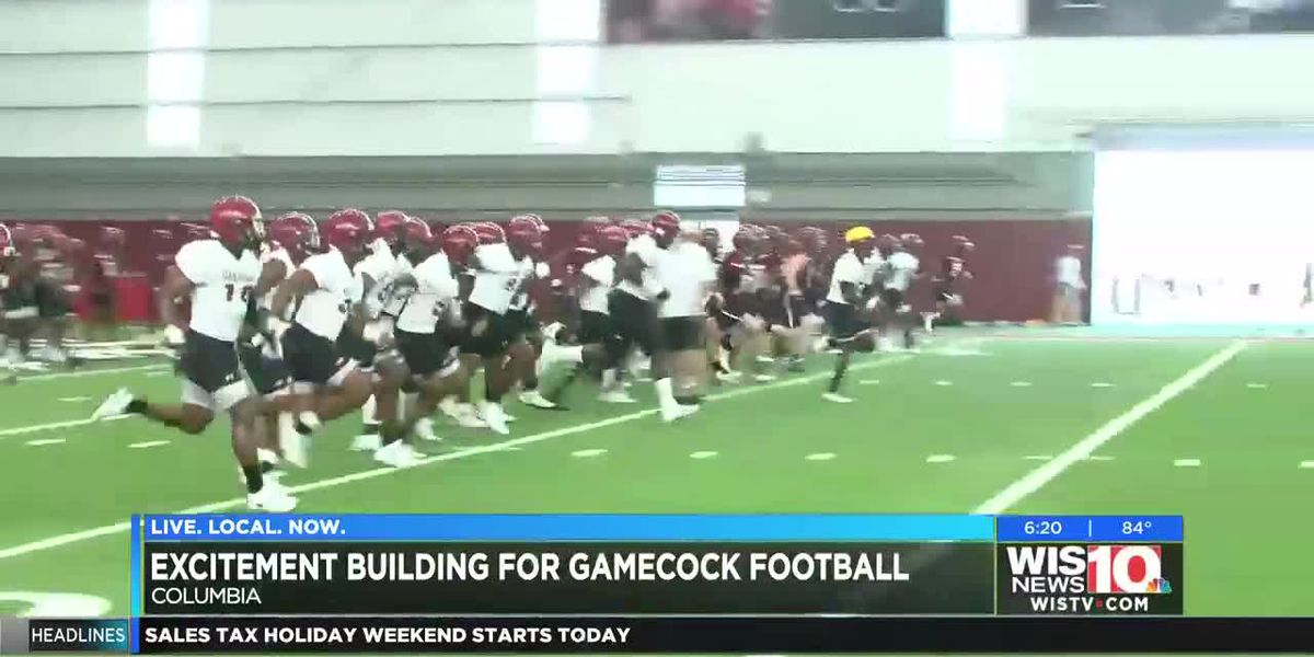 WHO'S READY? Gamecocks football is just around the corner