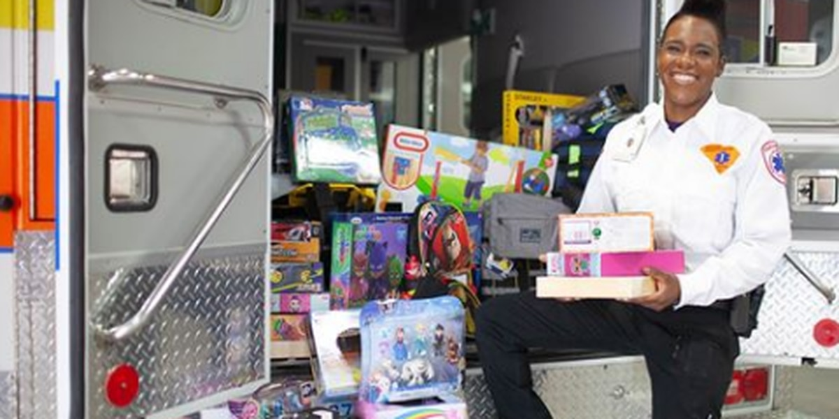 Richland County EMS to host 'Stuff an Ambulance' toy drive
