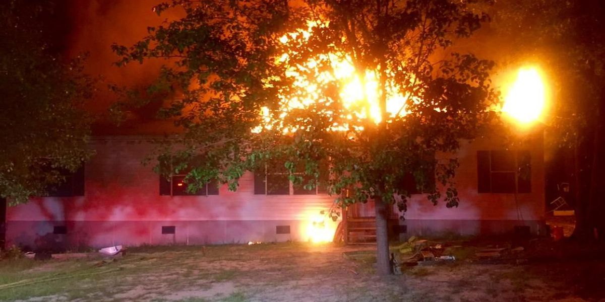 Firefighter recovering after being shocked while battling fire in Lugoff