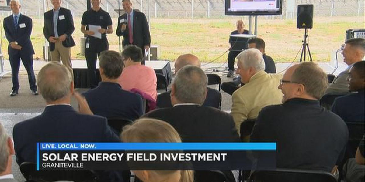 $100 million solar energy project coming to South Carolina