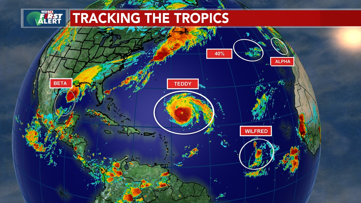 TROPICS: Active hurricane season continues, now using the Greek alphabet to name storms